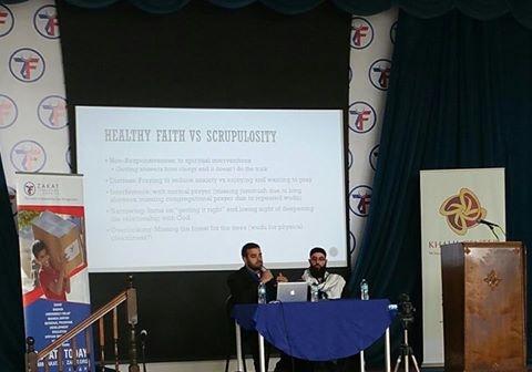 نشاط مؤتمر الصحة العقلية الذي عقدته الزكاة  بمقرها في شيكاغو