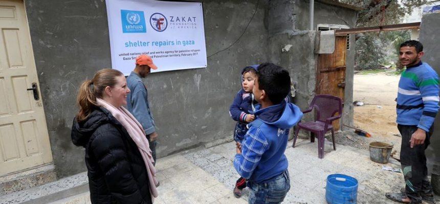 حملة اعادة بناء غزة