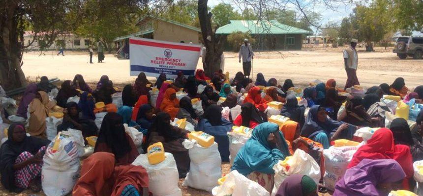 الاستجابة الطارئة لموجة الجفاف في إثيوبيا