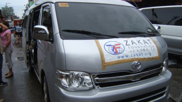 zakat foundation truck