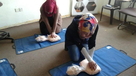 مساعدة الاجئات السوريات