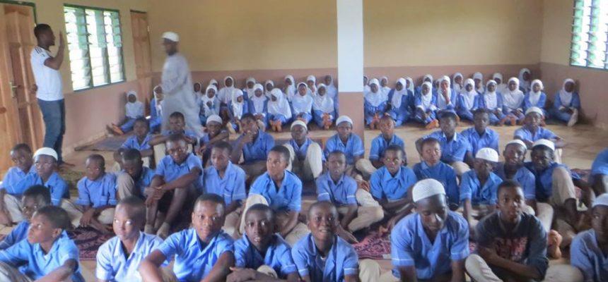 بناء مسجد في غانا