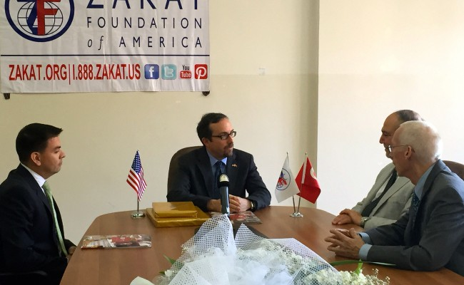 U.S. Ambassador to Turkey Applauds ZF's Dedication