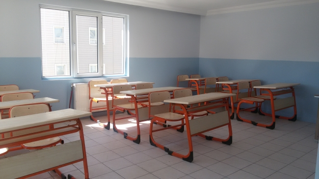 classroom at zahra university