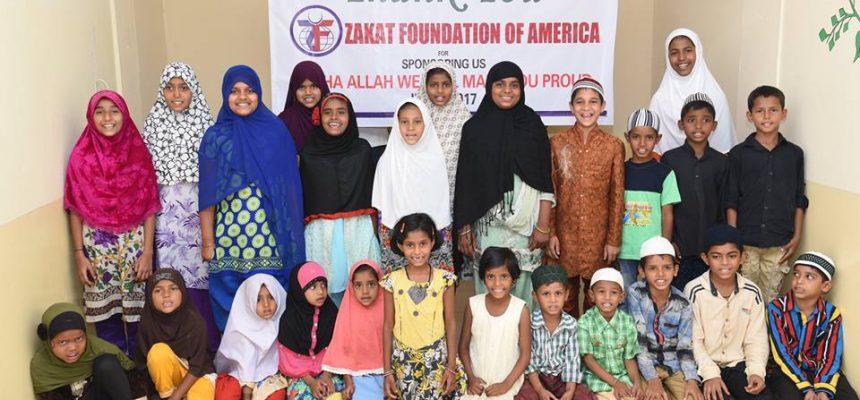 برنامج رعاية الأيتام في الهند