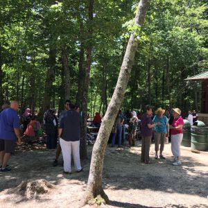 Syrian Refugee Families Prepare Picnic for North Carolina Community