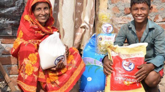 مساعدة اللاجئين الروهينغا في الهند