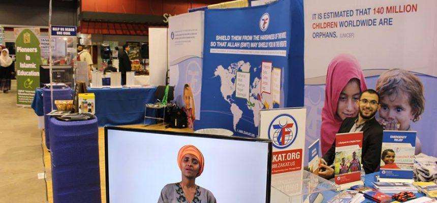 مشاركة الزكاة في مؤتمر ICNA54