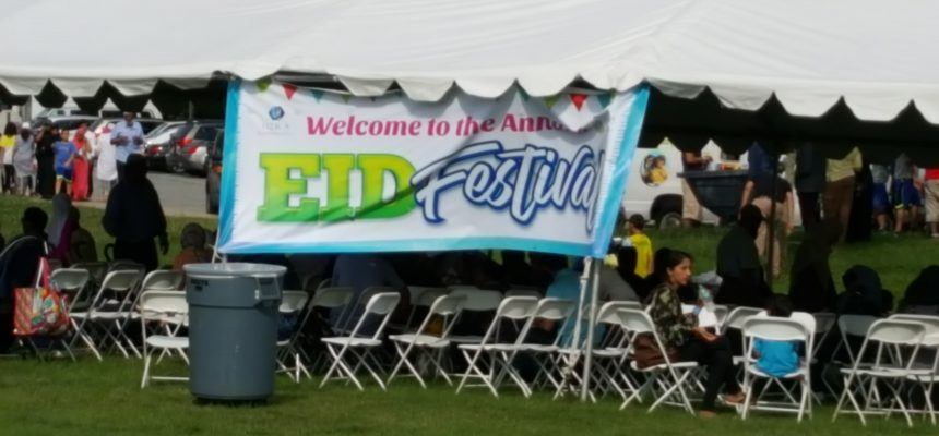 ZF Joins Eid Fest in Philadelphia