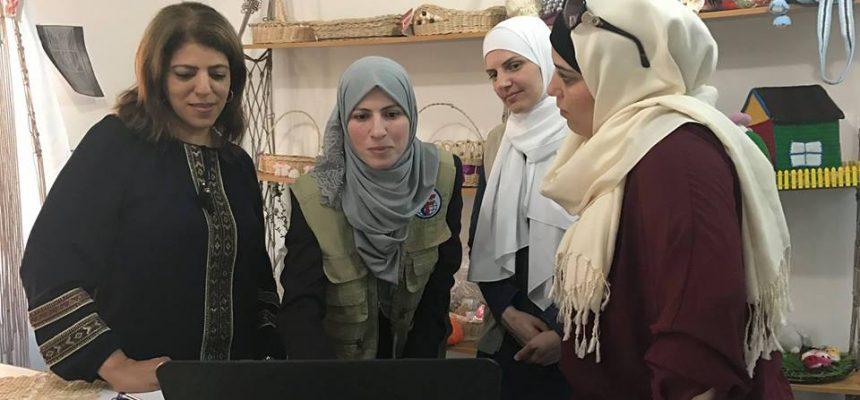 مركز التدريب المهني يعمل على تمكين المرأة السورية اللاجئة في الأردن