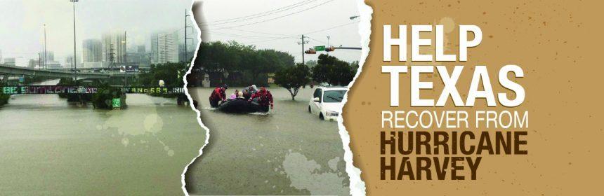 الزكاة تباشر حملة الإغاثة الطارئة لضحايا إعصار هارفي