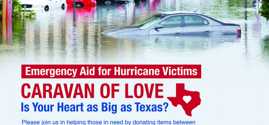 ZF Initiates Chicagoans For Texas Relief Effort with the 'Caravan of Love'