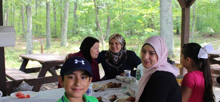 ZF Hosts Picnic for Refugee Families in Boston