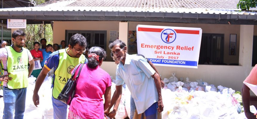 Emergency Relief in Sri Lanka