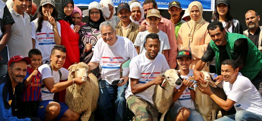 توزيع الأضاحي في المغرب