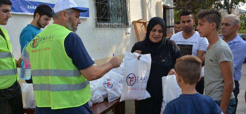 توزيع الأضاحي في لبنان
