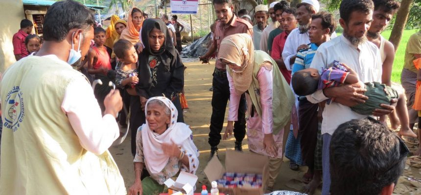Providing Medical Relief to Rohingya Refugees