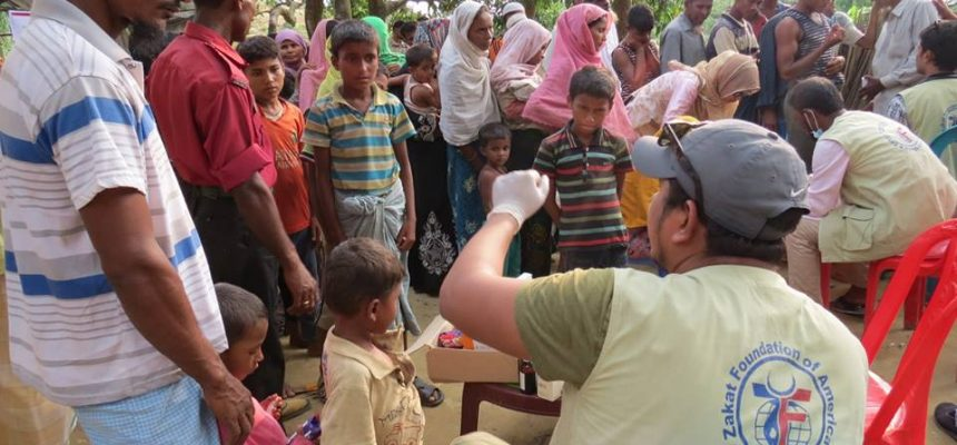 Emergency Relief for Rohingya Refugees in Bangladesh