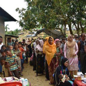الإغاثة الطارئة للاجئين الروهينغا في بنغلاديش