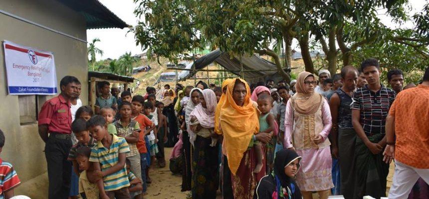 الإغاثة الطبية الطارئة للاجئين الروهينغا في بنغلاديش