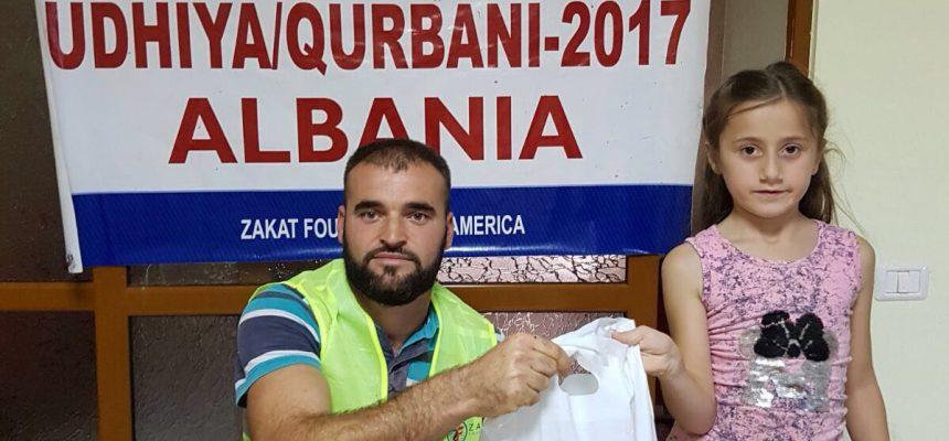 توزيع الأضاحي في البلقان