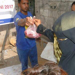 توزيع الأضاحي(قرباني) في اليمن