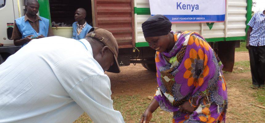 توزيع الأضاحي في كينيا