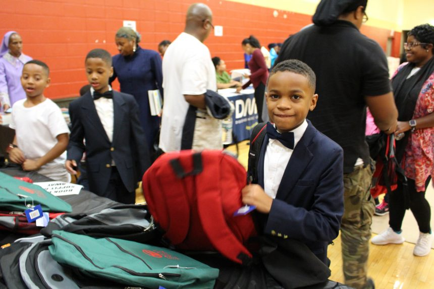 Zakat Foundation of America Distributes Backpacks During Muhammad University of Islam's Parent Night