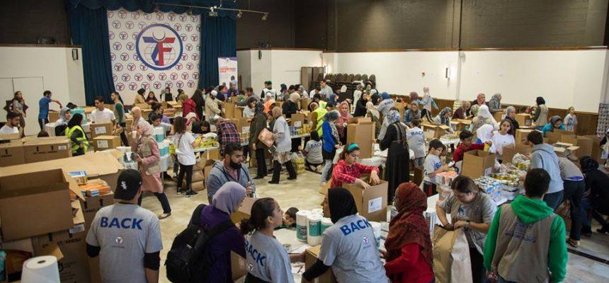 مسلمو شيكاغو يتحدون لإغاثة بورتوريكو