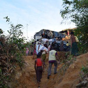 الزكاة تجلب الإغاثة والإنعاش للاجئي الروهينغا