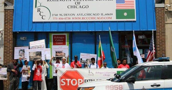 التكيف مع الحياة الجديدة : الروهينغا في شيكاغو وضع نصب أعينهم مساعدة أولئك الذين يحتاجونها في ميانمار