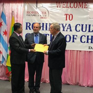 Senator Dick Durbin Visits Rohingya Culture Center
