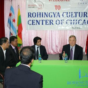 Senator Dick Durbin Finds Inspiration in Zakat Foundation of America's Rohingya Center