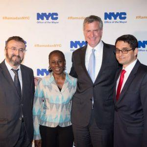 مؤسسة الزكاة تتلقى رسالة تقدير من عمدة نيويورك