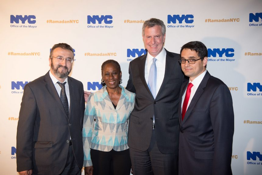 Mayor Bill de Blasio Thanks ZF