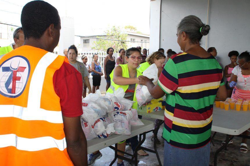 الزكاة تسرع في إغاثة بورتوريكو