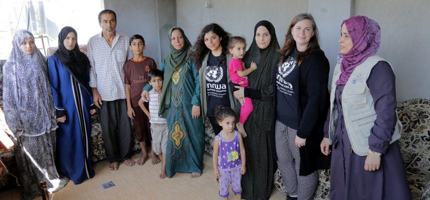 إعادة بناء غزة بالشراكة مع الأونروا