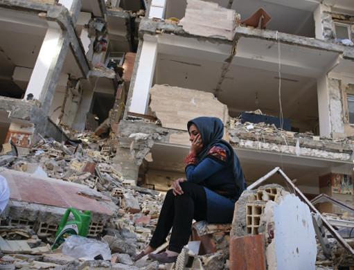 الدمار والبرودة – الزلزال الإيراني – العراقي