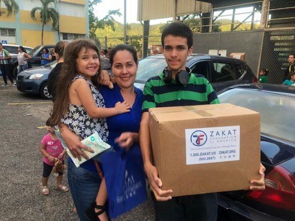 عودة بعثة الزكاة لإغاثة بورتوريكو