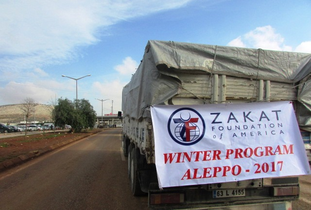 Zakat Foundation of America ships winter wear to Syria
