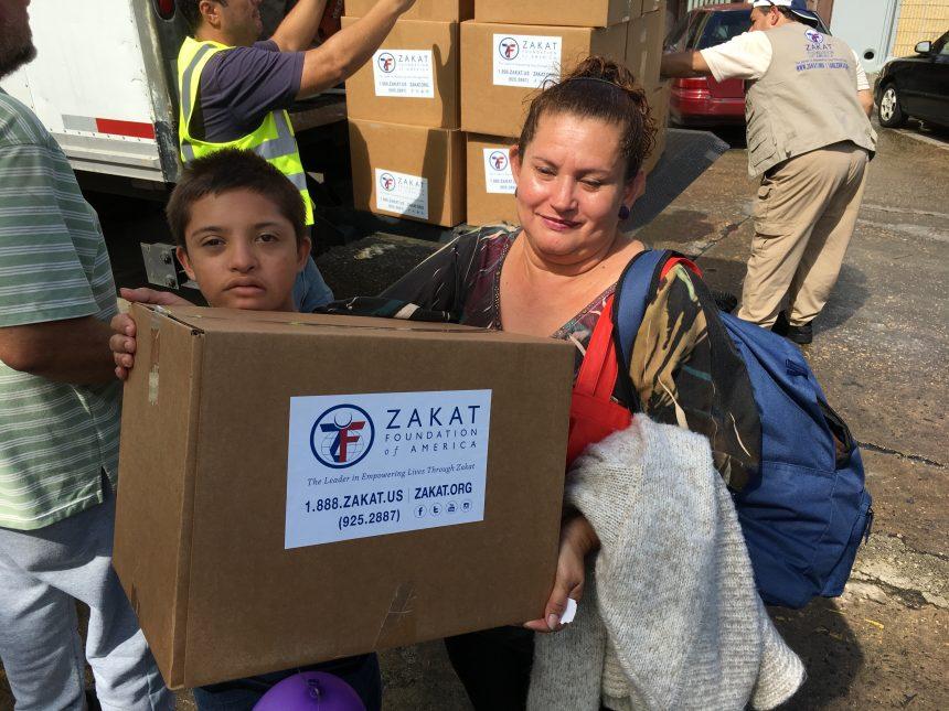 بعثة الزكاة لإغاثة بورتوريكو تعود
