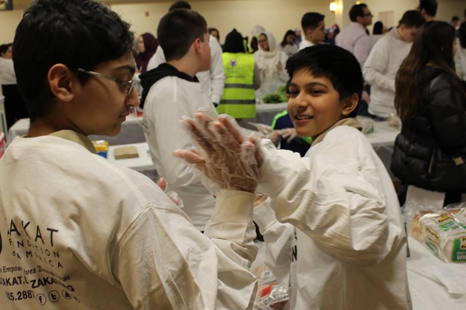 Zakat Foundation of America Volunteer Day