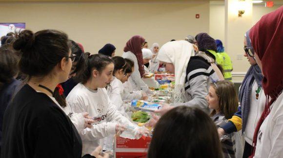 يوم تطوعي في مركز مكة