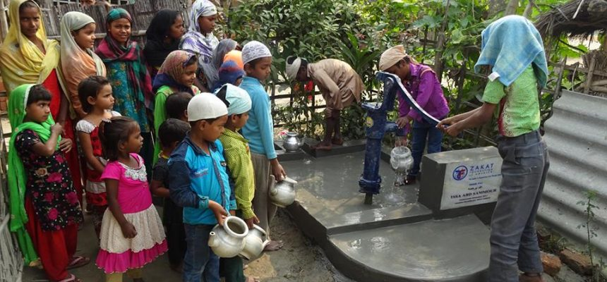 الزكاة تركب مضخات المياه النظيفة في الهند