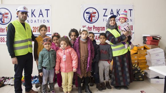 Winter Kit Program Launches in Turkey