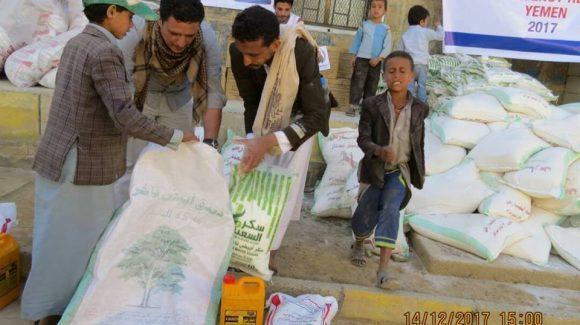 مساعدات الزكاة الغذائية الطارئة في اليمن
