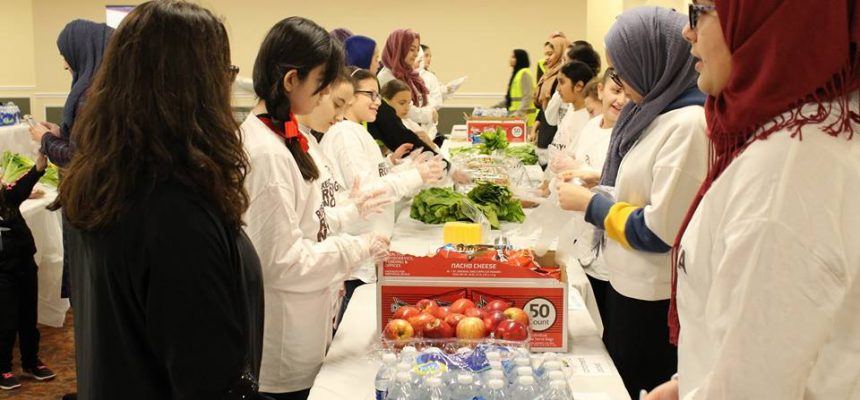 يوم للجوع: مركز مكة يستضيف يوم تطوع للزكاة