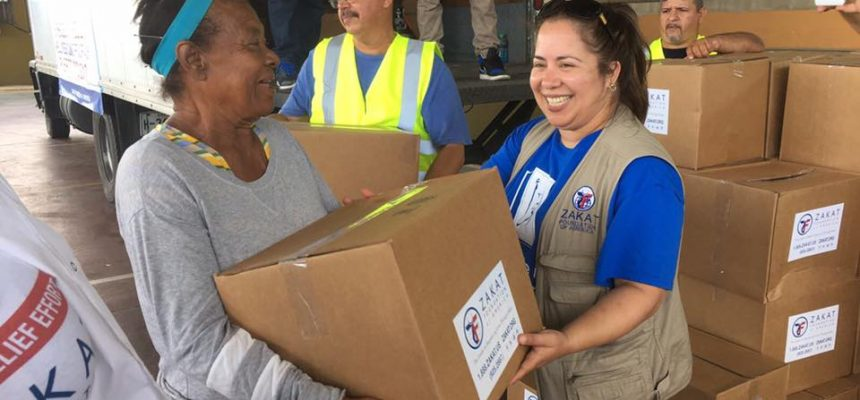 Zakat Foundation Relief Mission Returns from Puerto Rico