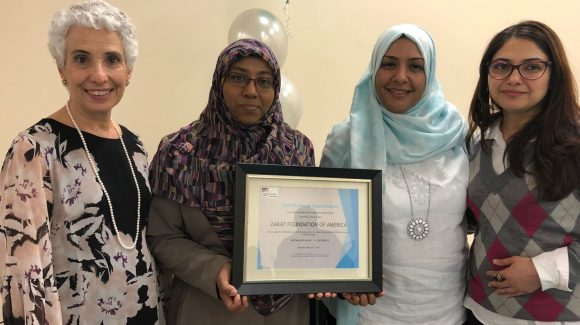 Zakat Foundation Awarded for Foster Child Support