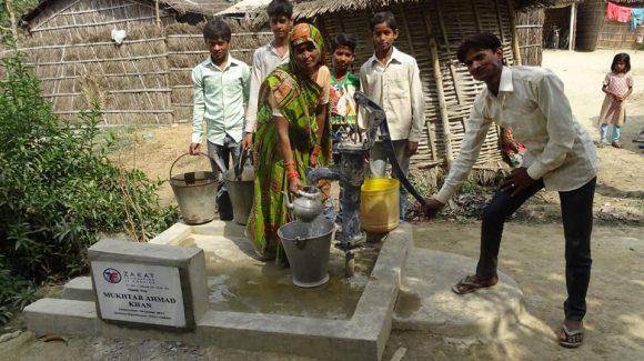 الزكاة تُركب مضخات المياه النظيفة في الهند